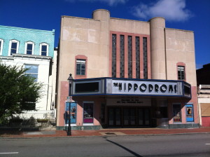 The Hippodrome Theater as of 9/14/13, photo by Jeff Majer