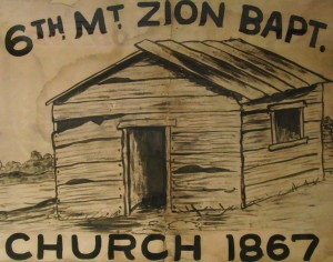 Sixth Mount Zion Baptist Church- 1867