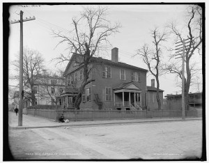 John Marshall House c. 1900
